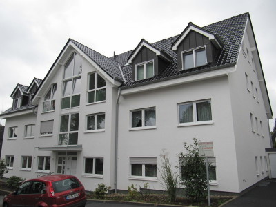 Gutachten mit Thermografie und Blower Door Test in Eigentumswohnung im Dachgeschoß