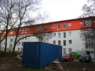 Fordsiedlung Köln, Messung von diversen sanierten Straßenzügen und Dachgeschoßneubauteilen
