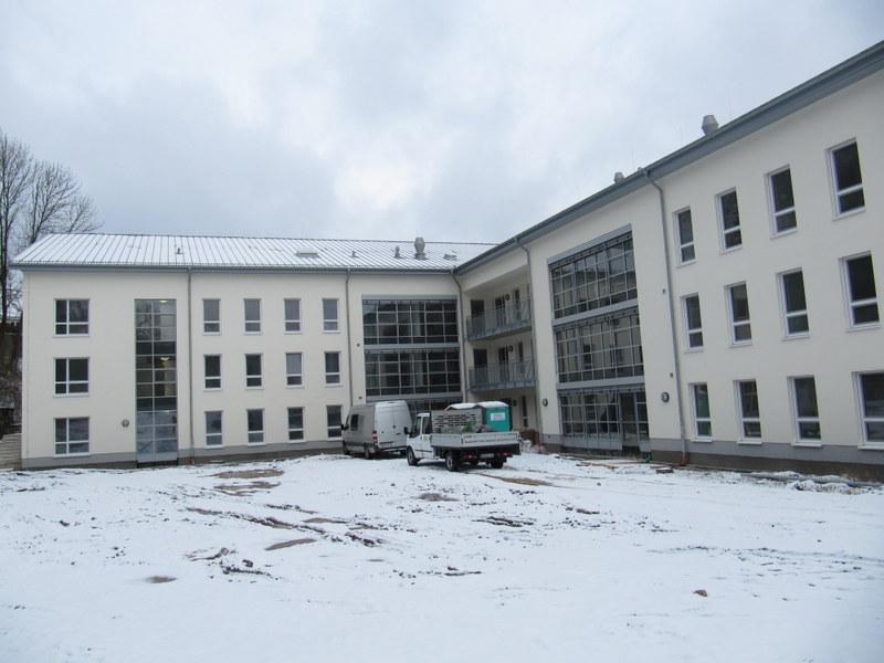 LWL Pflegeheim, LWL, Luftdichtigkeitsmessung Marsberg 2013