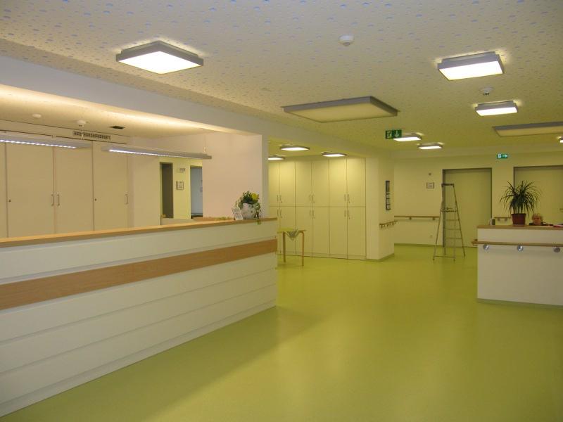 Pflegeheim Gelsenkirchen Stationen einzeln nach Sanierung 2014