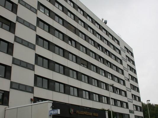 Hagen, Untersuchung des Istzustands der Luftdichtigkeit Verwaltungsgebäude Polizei 2007