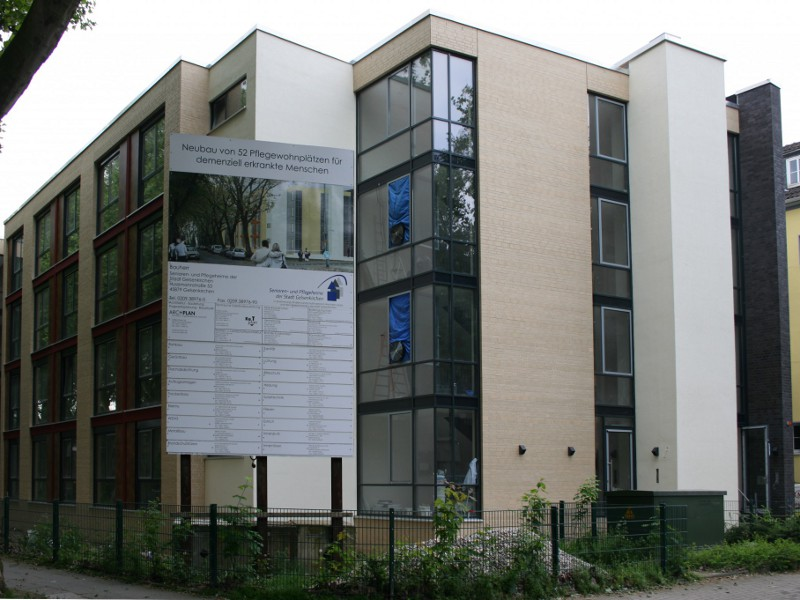 HEUTEC Messtechnik Blower Door, Pflegeheim, Luftdichte Gebäude, n50, q50, Luftdichtigkeit, KFW Nachweis