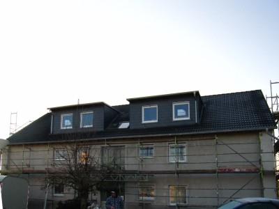 Dachgeschoßausbau, Messung Luftdichtigkeit