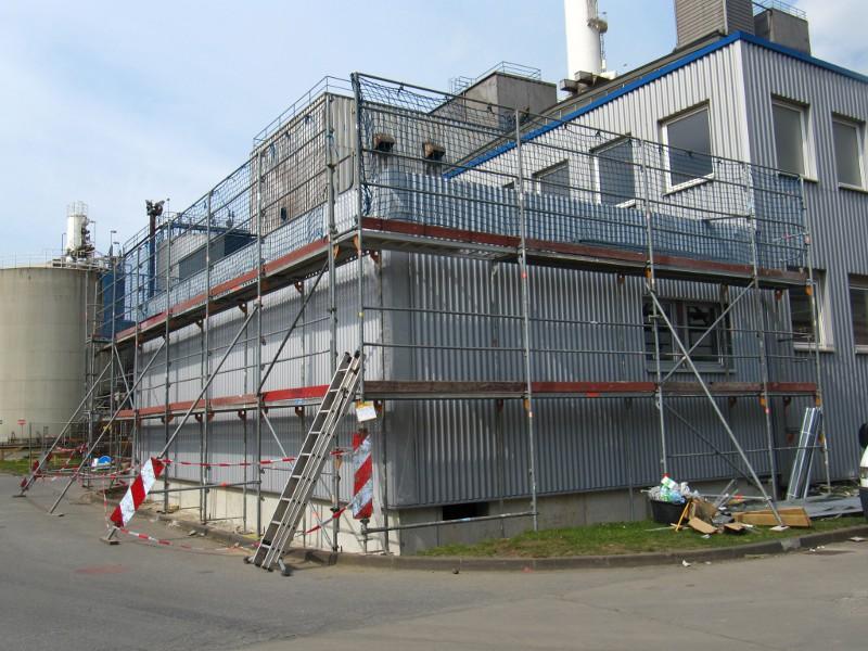 Duisburg, Laborgebäude eines Industrieunernehmens