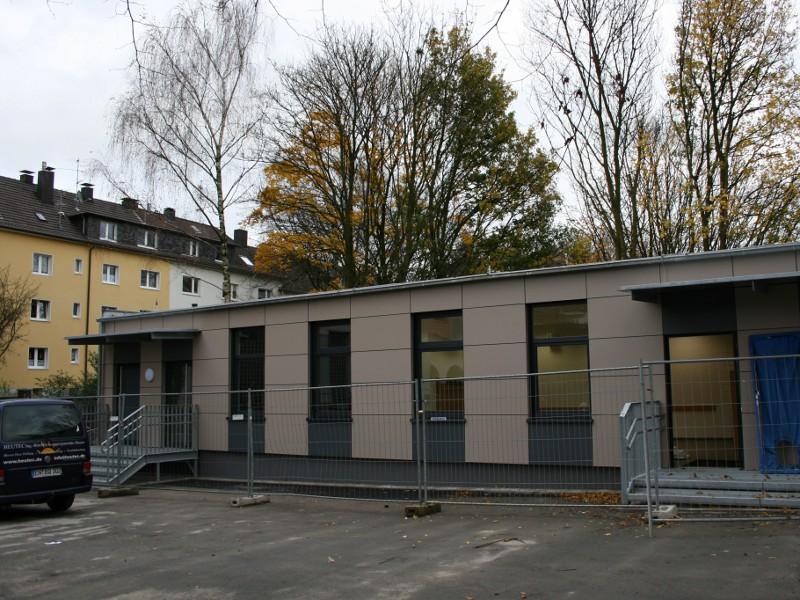 Wuppertal Schulanbau Modulbaweise 2009
