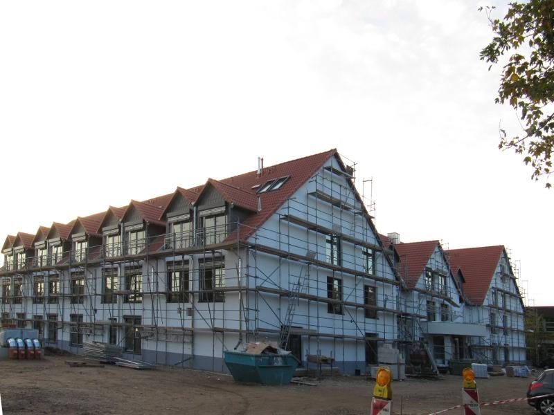 Seniorenresidenz Niederkassel Luftdichtigkeitsmessung Luftinhalt 9200 m³ 2012