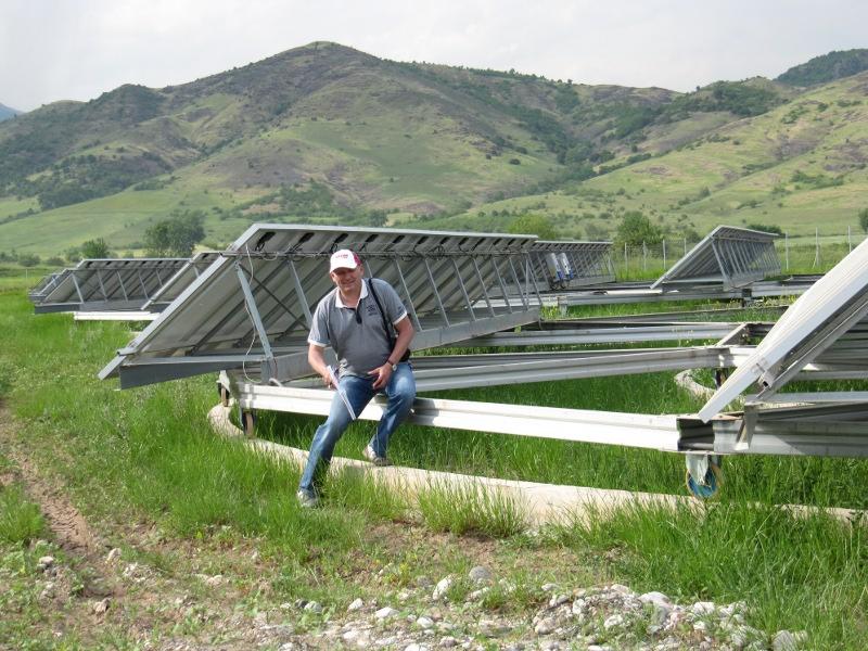 PV Freiflächenanlage Bauleitung in Griechenland