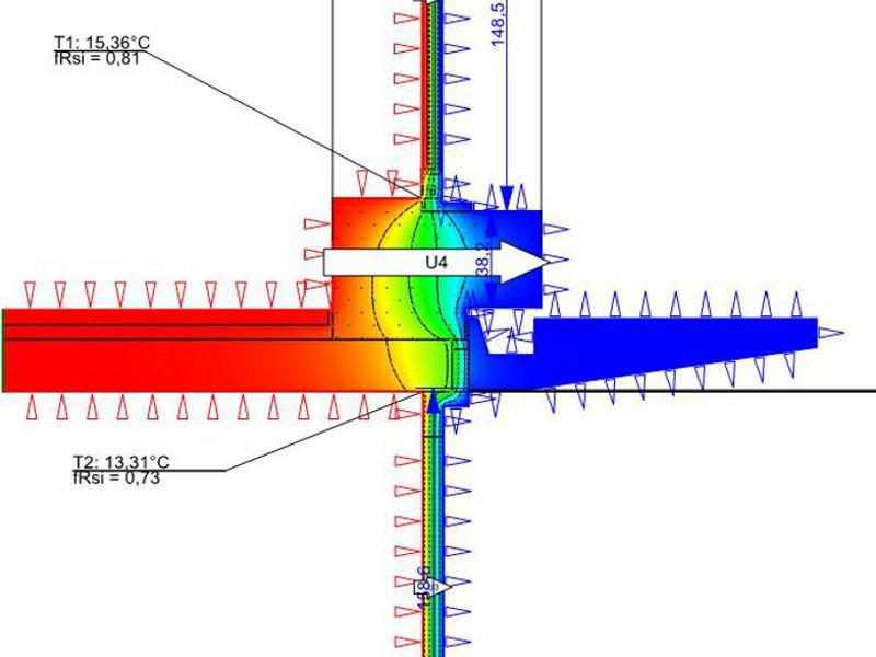 HEUTEC Wärmebrücken und energetische Optimierung PHPP, Effizienzhaus