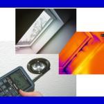 Leckagesuche mit Thermografie, Nebel, Anemometer als Zusatz