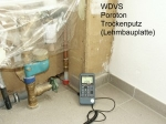 Unverputzte Porotonsteine sind Ursache von Luftleckagen die bei Luftdichtigkeitsmessungen auffallen