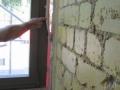Große Leckage am Fenster