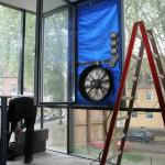 HEUTEC Messtechnik Blower Door, Luftdichte Gebäude, n50, q50, Luftdichtigkeit, Konzept, KFW Nachweis